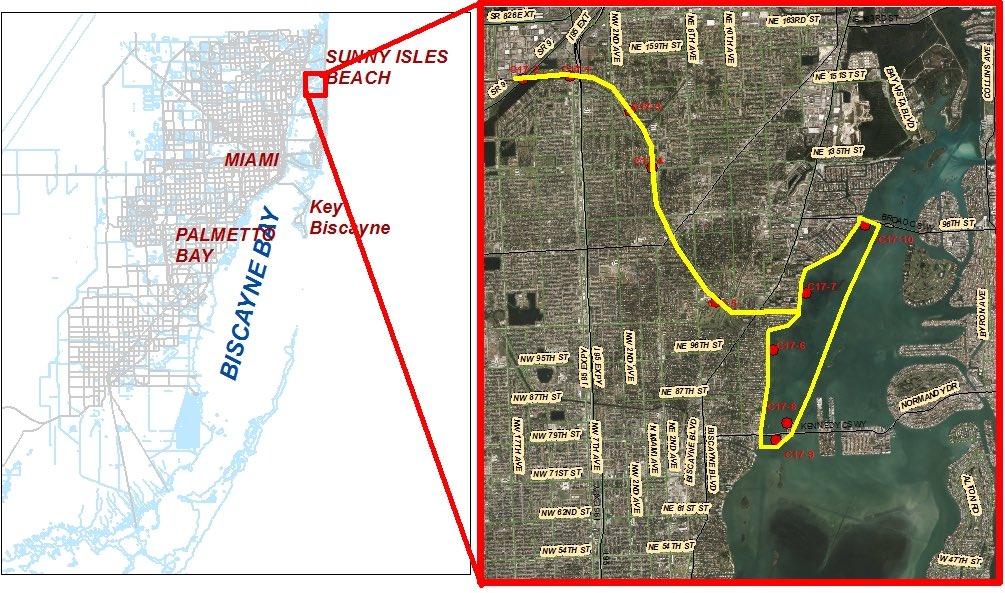 Biscayne Bay Campus Map.Carthe Drifters Track Miami Sewage Leak Carthe Blog