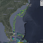 Drifters from Miami to NC